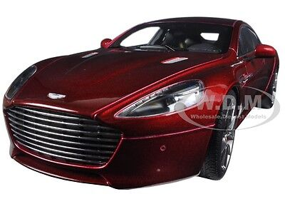 2015 Aston Martin Rapide S Diavolo Red 1/18 Diecast Model Car By Autoart 70257