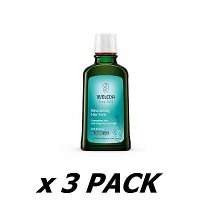 3 Pack of Weleda (Uk) - Revitalizing Hair Tonic 100ml