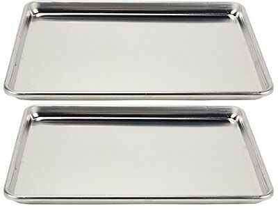 Vollrath Baking Cookie Sheets Wear Ever Sheet Pan Half Size 2 Units Bakeware New