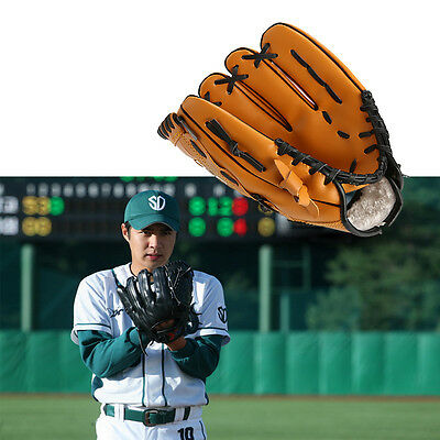 10.5'' 11.5'' 12.5'' Baseball Glove Softball Mitts Outdoor Team Sports RightHand