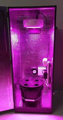 Hydroponic Grow Box 150W LED Stealth PC CabinetCrop.com Indoor Garden Cabinet