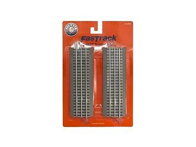 """Lionel 6-12032 FasTrack 10"""" Straight Track 4 Pack O Scale Model Trains"""