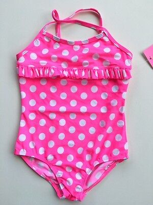 New Girls 1 Piece Swimwear Swimmers Swimsuit Bathers Bikini Sizes 6,8,10
