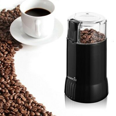 MINDKOO 200W Electric Coffee Bean Grinder Mill Stainless Steel Blade Nut Spice