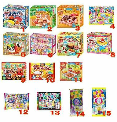Kracie Popin Cookin Happy Kitchen Sushi Bento Cakes Donuts Pizza Ramen Nerune