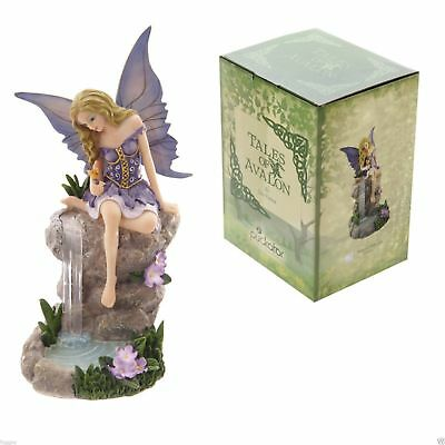 TALES OF AVALON Waterfall Whispers Fairy On Waterfall Lisa Parker Ornament NEW