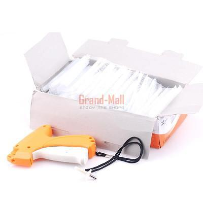 "Garment Clothing Pricing Tag Machine Price Label Tagging Gun + 5000pcs 1"" Barbs"