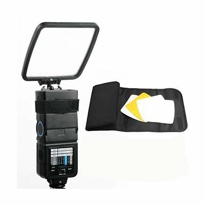 4 in 1 Universal Flash Diffuser Reflector Kit for Canon Nikon Sony Yongnuo Metz