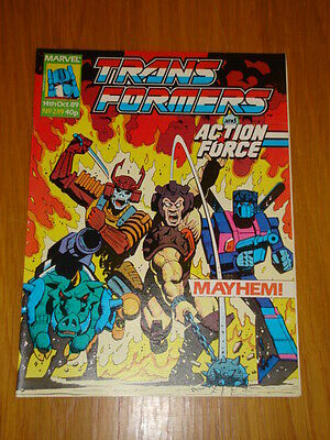 Transformers British Weekly #239 Marvel Uk Comic 1989