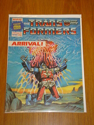 Transformers British Weekly #80 Marvel Uk Comic 1986 With Free Gift