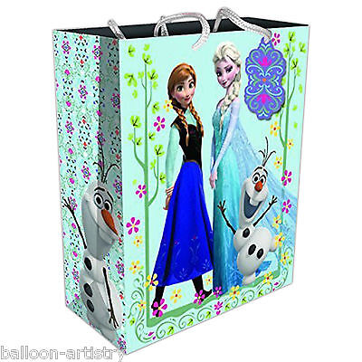Disney's FROZEN Elsa Anna Snow Queen Children's Party Large Paper Gift Bag