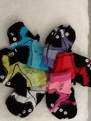 Baby Sock 6 Pack 0-12m BNWT Baby Shower Gift Jenny Plays Golf Trumpette