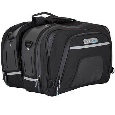 Spada Expandable Touring Universal Motorcycle Bike Pannier Panniers Luggage Bags