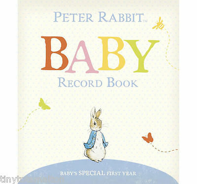 Peter rabbit baby record book ideal maternity new baby gift baby shower new gift
