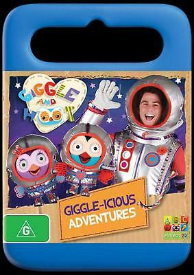 Giggle And Hoot Present - Giggle-Icious Adventures! - DVD Region 4 Free Shipping