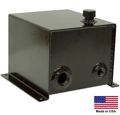 "HYDRAULIC OIL RESERVOIR - 3 Gallon - Steel - 1.5"" Suction - 3/4"" Return Port"