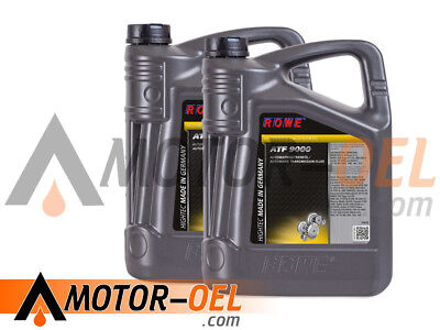 10 (2x5) Liter ROWE Hightec ATF 9000 Automatikgetriebeöl Made in Germany