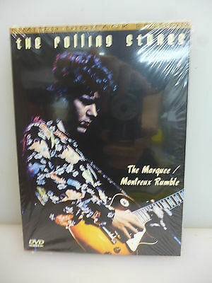 Rolling Stones-The Marquee/montreux Rumble. 1971/1972.-Dvd Digipack-New.sealed.