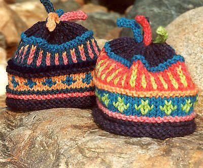 Cabin Fever Knitting Pattern 105 Color Me Bright Adult Hat 300