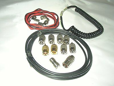 Sortiment Stecker + Kabel etc., Neu
