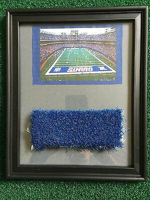 NFL New York Giants Game Used End Zone Turf Meadowlands 8x10 Frame