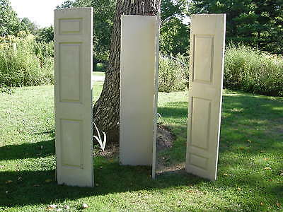 Set of 3 pair folding 3 Panel  INTERIOR Closet Doors 80 x 18, 6 doors total $125