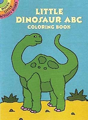 Little Dinosaur ABC Coloring Book by Winky Adam (English) Paperback Book Free Sh