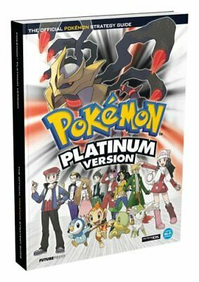 Pokemon Platinum Official Strategy Guide, Future Press Paperback Book