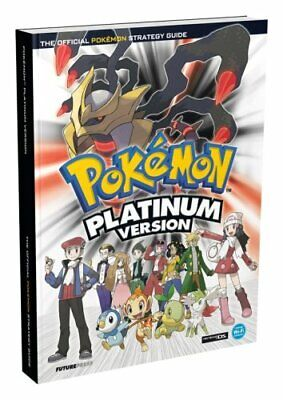 Pokemon Platinum Official Strategy Guide by Future Press Paperback Book The