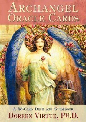 Archangel Oracle Cards by Virtue PhD, Doreen Cards Book The Cheap Fast Free Post
