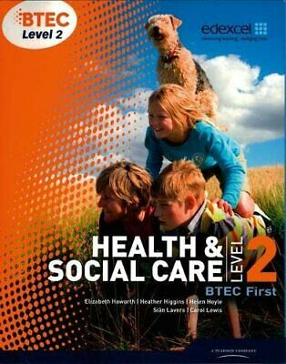 BTEC Level 2 First Health and Social Care S... by Lancaster, Mrs Helen Paperback