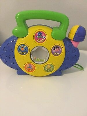 Radios Musical Toys 1990 Now Battery Operated