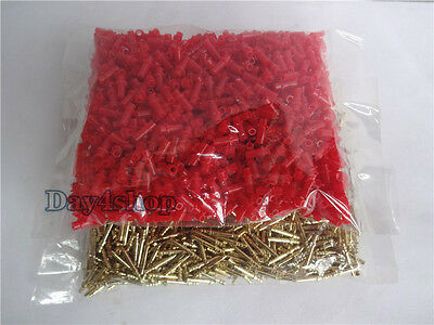 1000PCS Dental Medium Length 16MM PIN WITH SLEEVES 16MM