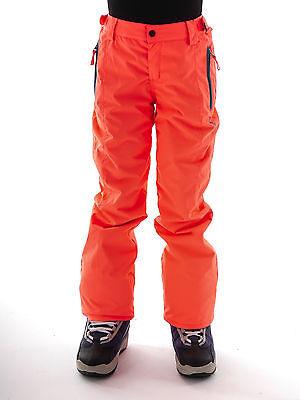 Brunotti Skihose Snowboardhose Lucianas Jr orange neon 5K Snow Cuffs