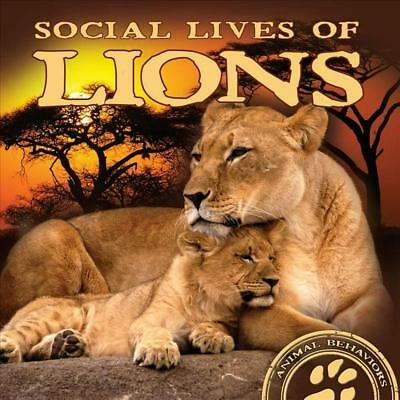 Social Lives of Lions by Elliot Riley (English) Hardcover Book Free Shipping!