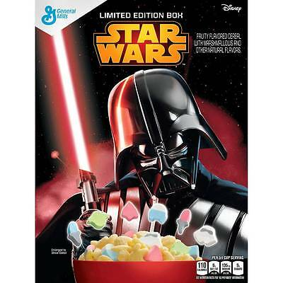 STAR WARS™Kylo Ren Cereal 297g Ltd Ed General Mills USA Lucky Charms Marshmallow