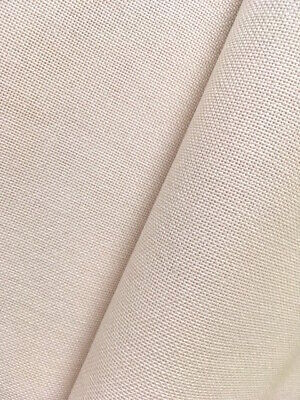 Ivory / cream  32 count Zweigart Murano evenweave fabric 50 x 70 cm