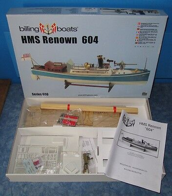 Billing Boats 1:35 HMS Renown 604 in OVP No. BB 0604