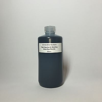 UV Blocking Black Film Ink for Epson - Film Positive/Screen Printing [500ml.]