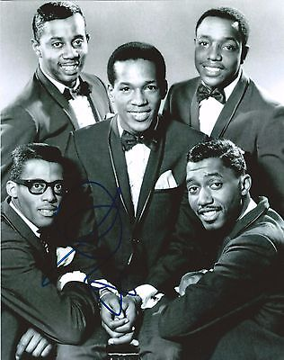 THE TEMPTATIONS OTIS WILLIAMS signed 8x10 PHOTO MOTOWN RECORDS