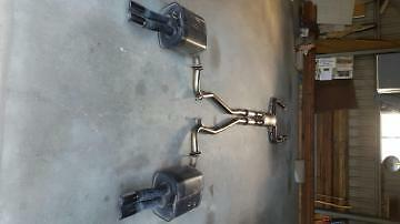 Holden VE SV6 exhaust system w/mufflers and tips