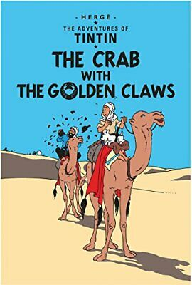 The Crab with the Golden Claws (The Adventures of Tintin) by Herg� Paperback The