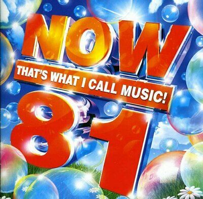 Various Artists - Now That's What I Call Music! 81 - Various Artists CD AGVG The