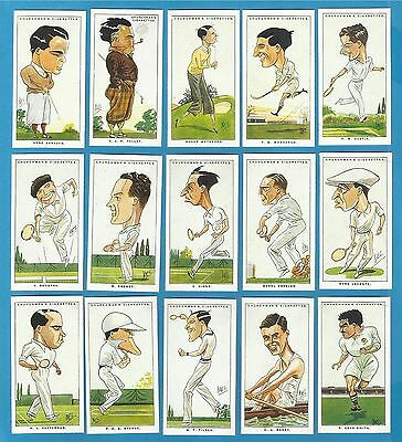 Churchman cigarette cards - MEN OF THE MOMENT IN SPORT - In original packaging