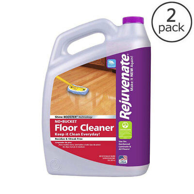 Rejuvenate 128 oz. No-Bucket Floor Cleaner Laminate Hardwood Tile Wood Flooring