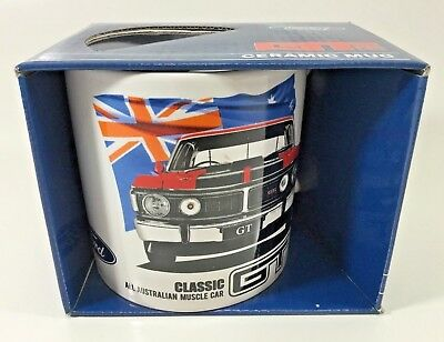 FORD XW XY 351 GT AUSSIE MUSCLE 20oz LARGE COFFEE CUP V8 SUPERCARS