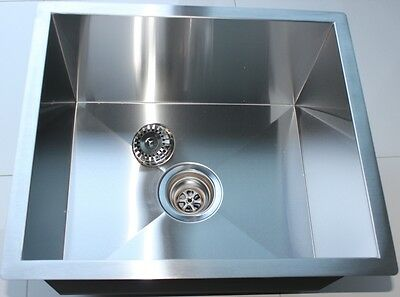 #304 (18-10) Handmade Stainless Steel Kitchen Sink / Laundry Tub (51cm x 45cm)