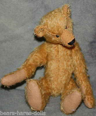"Pattern & Mohair for Tiny Ted 9"" Jointed Teddy Bear"