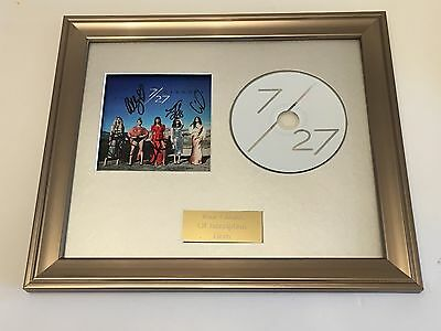 Personally Signed/autographed Fifth Harmony - 7/27 Framed Cd Presentation. Rare