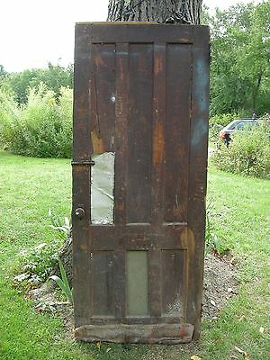 ANTIQUE DOOR NEW ENGLAND 6 panel interior  door  83 x 34 graffiti nostalgia